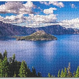 1000 Piece Crater Lake National Park Jigsaw Puzzle