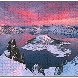 1000 Piece Crater Lake National Park Sunset Puzzle