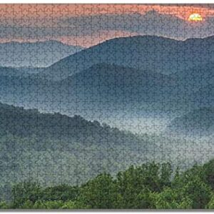 1000 Piece Great Smoky Mountains National Park Jigsaw Puzzle