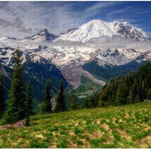 1000 Piece Mt Rainier Puzzle