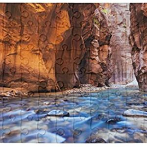 1000 Piece Zion National Park River Puzzle