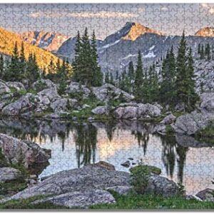 1000 Pieces Rocky Mountains Colorado Puzzle