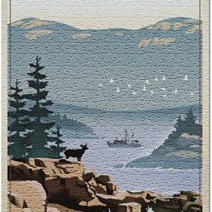 500 Piece Acadia National Park Jigsaw Puzzle
