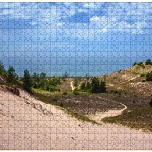 500 Piece Indiana Dunes National Park Jigsaw Puzzle