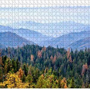 500 Piece Sequoia National Park Autumn Puzzle