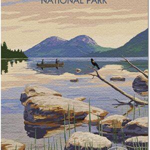 Acadia National Park Jordan Pond Puzzle