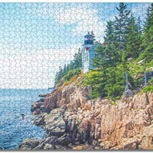 Acadia National Park Lighthouse Jigsaw Puzzle