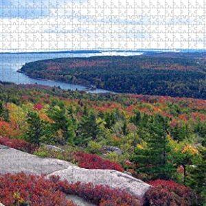 Acadia National Park Main Wooden Jigsaw Puzzle