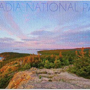 Acadia National Park Maine Cadillac Mountain Jigsaw Puzzle