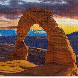 Arches National Park Sunset Puzzle