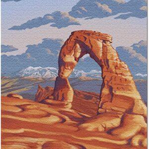 Arches National Park Utah Delicate Arch Puzzle