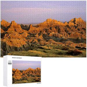 Badlands National Park In South Dakota Puzzle