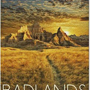 Badlands National Park Jigsaw Puzzle