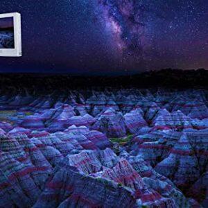 Badlands National Park South Dakota Night Puzzle