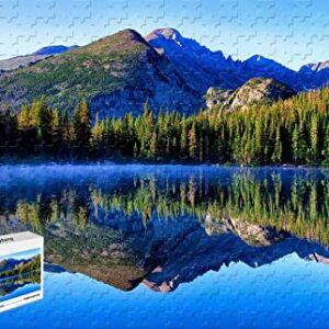 Bear Lake Rocky Mountain National Park Colorado Puzzle
