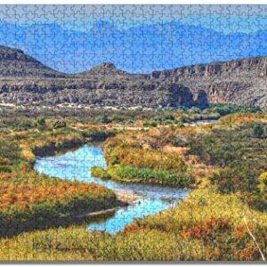 Big Bend National Park Landscape Puzzle