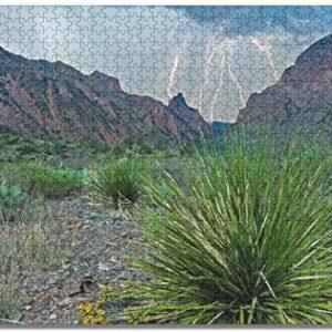 Big Bend National Park Lightning Puzzle