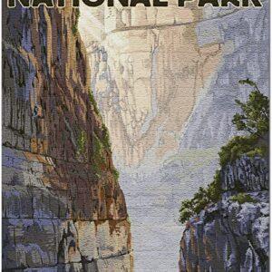Big Bend National Park Santa Elena Canyon Puzzle