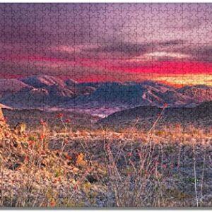 Big Bend National Park Sunset Puzzle
