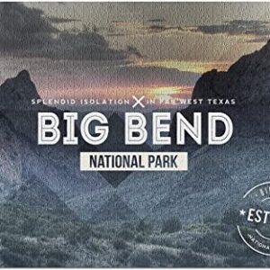 Big Bend National Park Texas Jigsaw Puzzle
