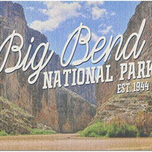Big Bend National Park Texas Rio Grande Puzzle