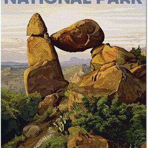 Big Bend National Park Texas Rock Formation Puzzle