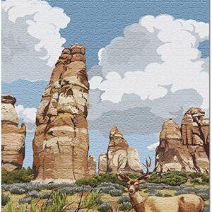 Canyonlands National Park Deer Puzzle