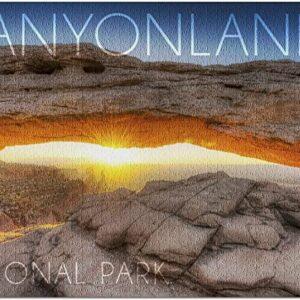 Canyonlands National Park Mesa Arch Puzzle
