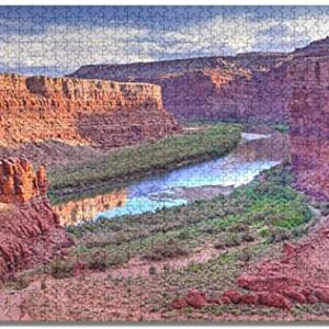 Canyonlands National Park River Jigsaw Puzzle
