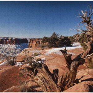 Canyonlands National Park Winter Jigsaw Puzzle