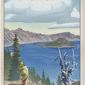 Crater Lake National Park Deer Puzzle