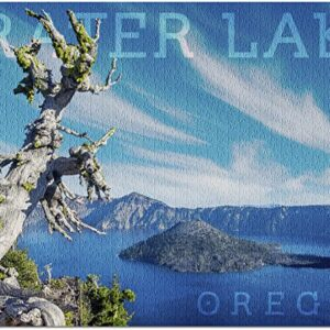 Crater Lake National Park Jigsaw Puzzle