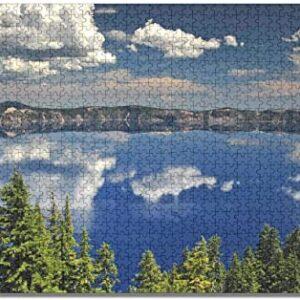 Crater Lake National Park Oregon Jigsaw Puzzle