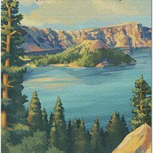 Crater Lake National Park Oregon Puzzle