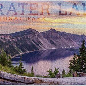 Crater Lake National Park Oregon Sunrise Puzzle