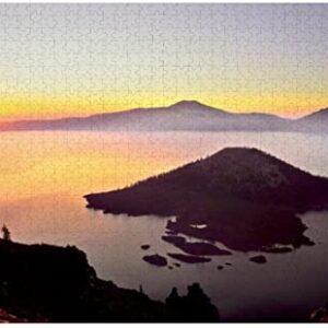Crater Lake National Park Sunrise Puzzle