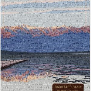 Death Valley National Park Badwater Basin Puzzle