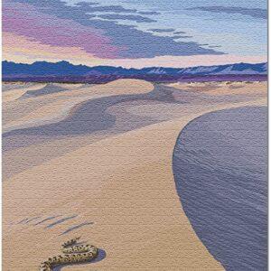 Death Valley National Park Mesquite Dunes Jigsaw Puzzle