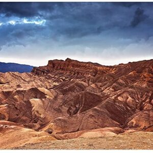 Death Valley National Park Storm Jigsaw Puzzle