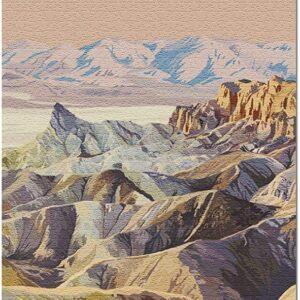 Death Valley National Park Zabriskie Point Puzzle