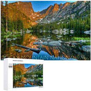 Dream Lake Rocky Mountain National Park Puzzle
