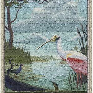 Everglades National Park Bird Puzzle