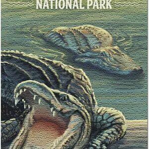 Everglades National Park Florida Alligator Puzzle