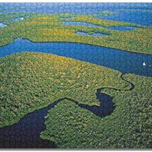 Everglades National Park Florida Nature Jigsaw Puzzle