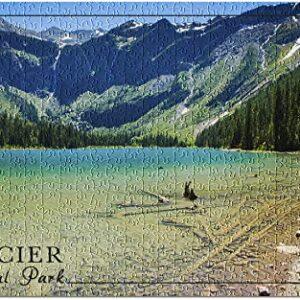 Glacier National Park Avalanche Lake Puzzle