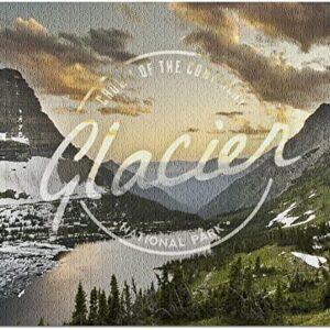 Glacier National Park Bearhat Mountain Puzzle