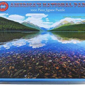 Glacier National Park Bowman Lake Puzzle