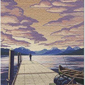 Glacier National Park Lake Mcdonald Puzzle