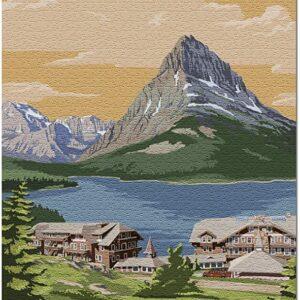 Glacier National Park Many Glacier Hotel Puzzle