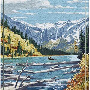 Glacier National Park Montana Jigsaw Puzzle